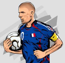 Zidane vector illustration