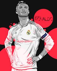 Cristiano Ronaldo vector illustration