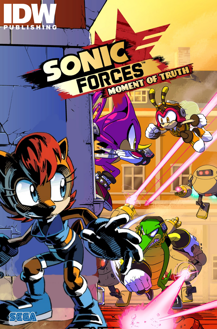 fake edit idw sonic comic cover by nintrendodude on deviantart