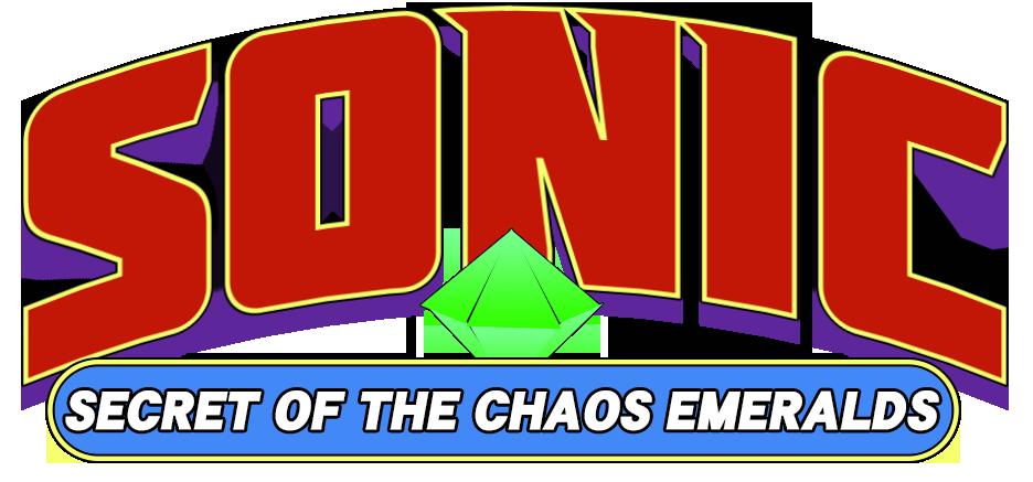 Sonic: Secret of The Chaos Emeralds logo #2 by Nintrendodude