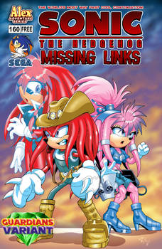 Sonic: Missing Links #160 - Guardians Variant