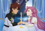YCH Dinner - Suzaku And Euphemia