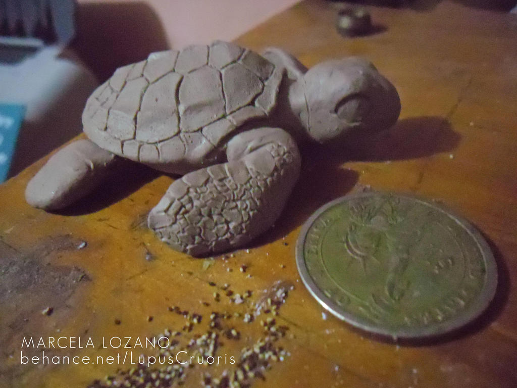 Sea Turtle WIP by LupusCruoris