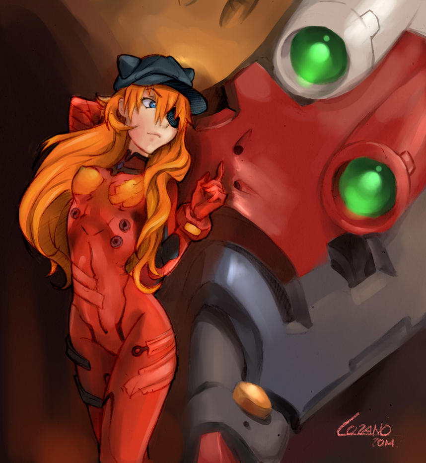 Asuka by LupusCruoris