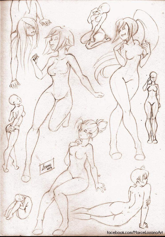 Pose Study by LupusCruoris