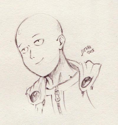 Saitama sketch by LupusCruoris