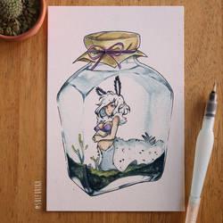 Specimen: Sea bunny by Sulfurika