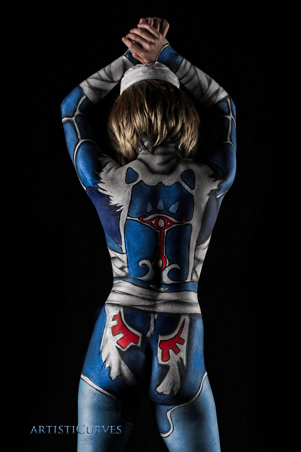 Sheik from Zelda by oldmacman