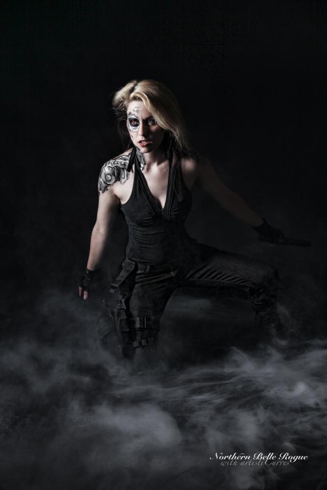 Female Terminator by oldmacman