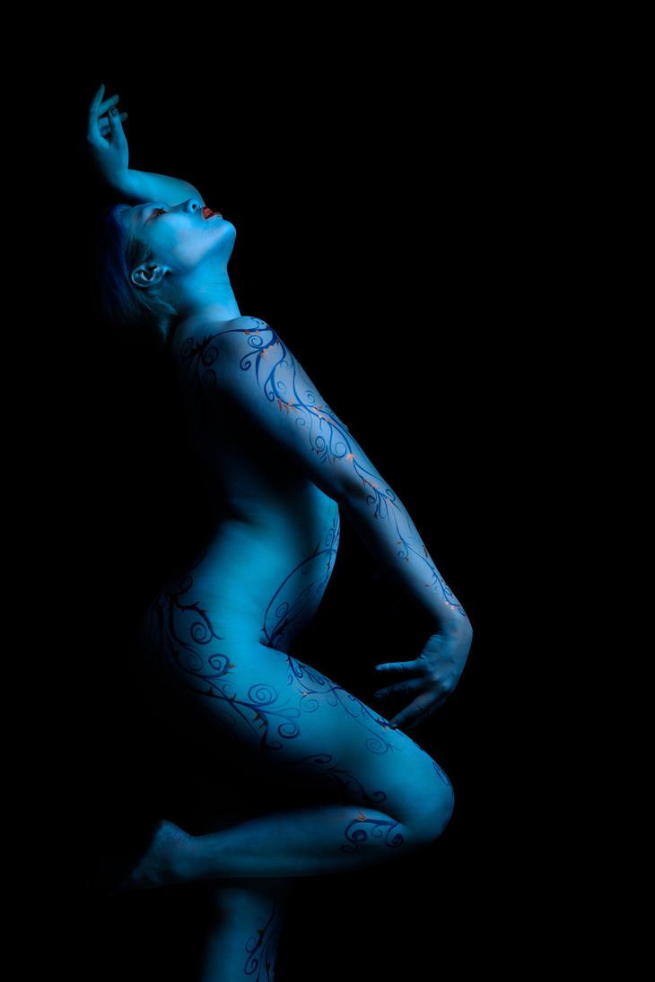 Blue Vine by oldmacman