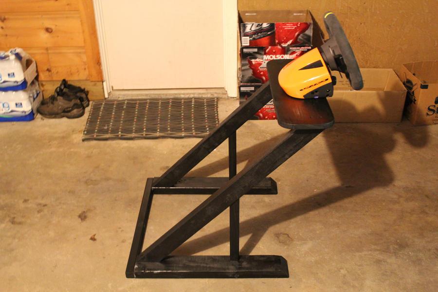 Homemade Wheelstand Left View by nlck09 on DeviantArt
