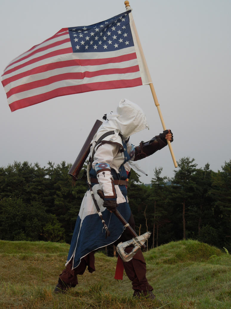 Assassin Creed III Independence Day 2012 by Paladin0