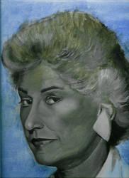 Bea Arthur, Dead Painting by Cubist-Space