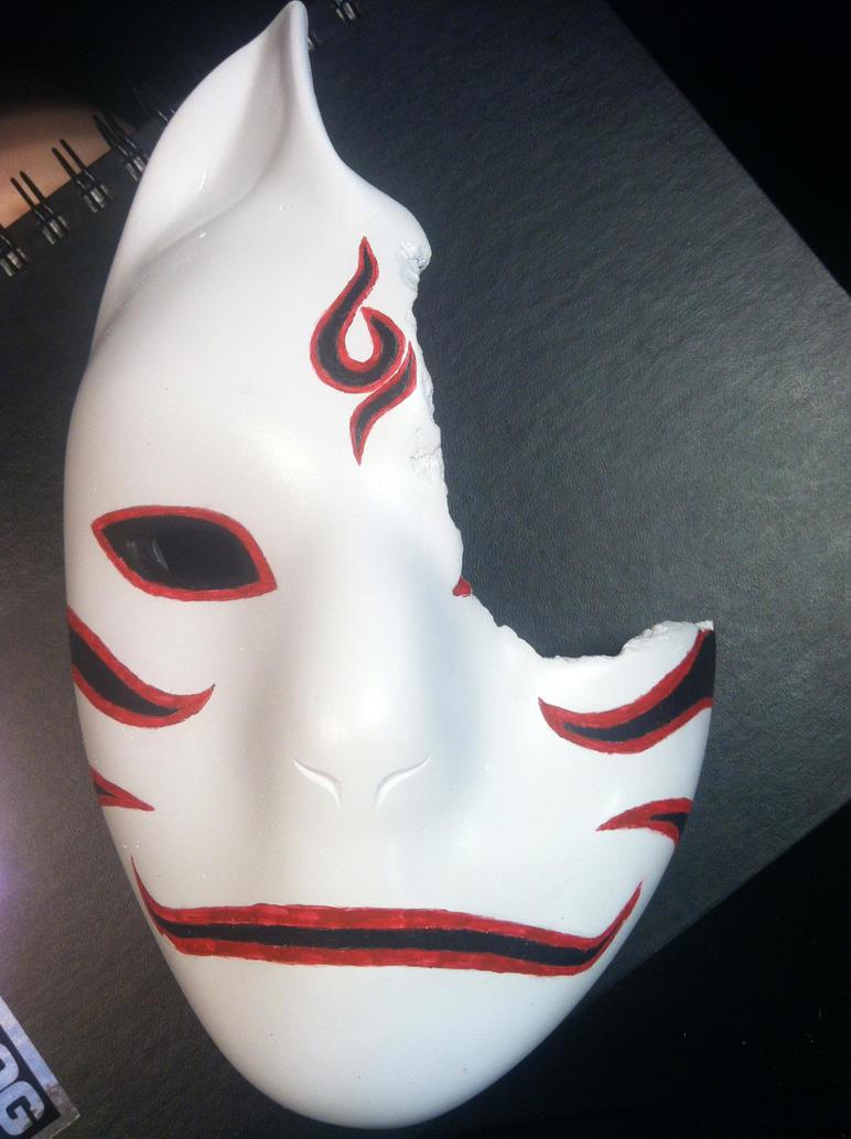 WIP 2 -- Kakashi Battle Anbu Mask by ChidoriLove89How To Make A Anbu Mask