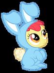 Apple Bloom Bunny Suit