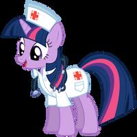 Nurse Twilight Sparkle by OTfor2