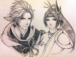 Nobuyuki and Inahime by OMG-L3NA