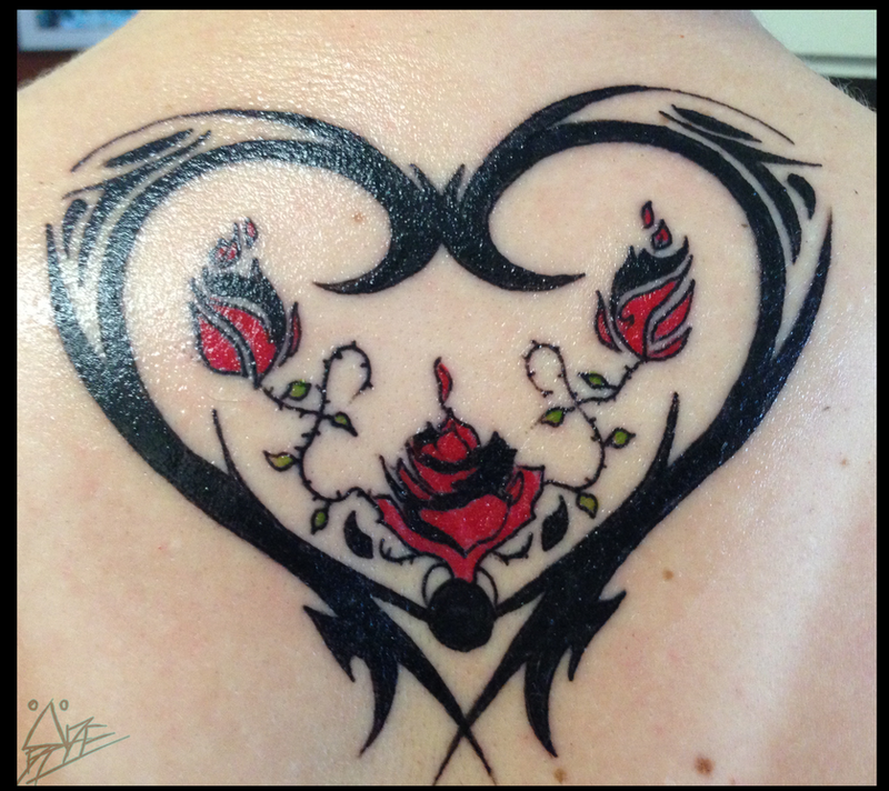 meaningful mother daughter tattoo my tattoo by dierinks on deviantart. Black Bedroom Furniture Sets. Home Design Ideas