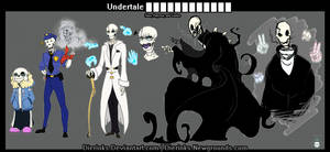 Undertale ???????????? [Sans, Papyrus and Gaster]