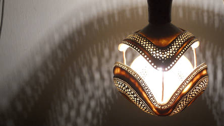 gourd lamp by antizafronitista