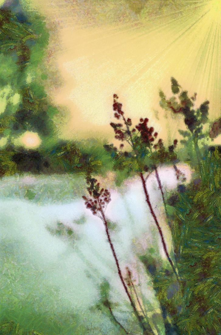 River Scene by theknitter