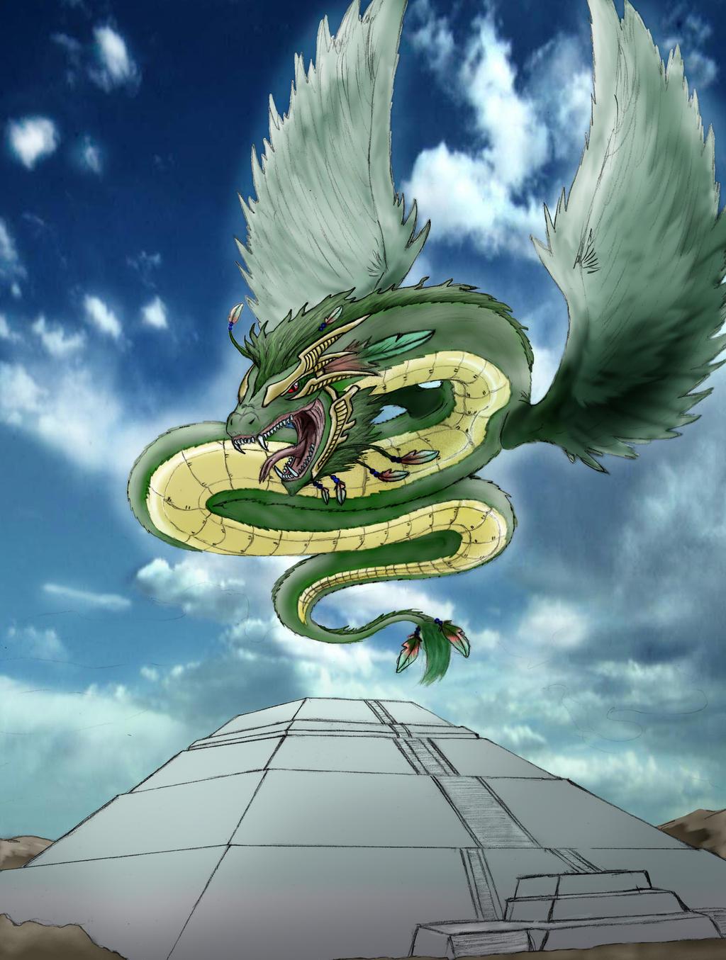 quetzalcoatl by xcidx