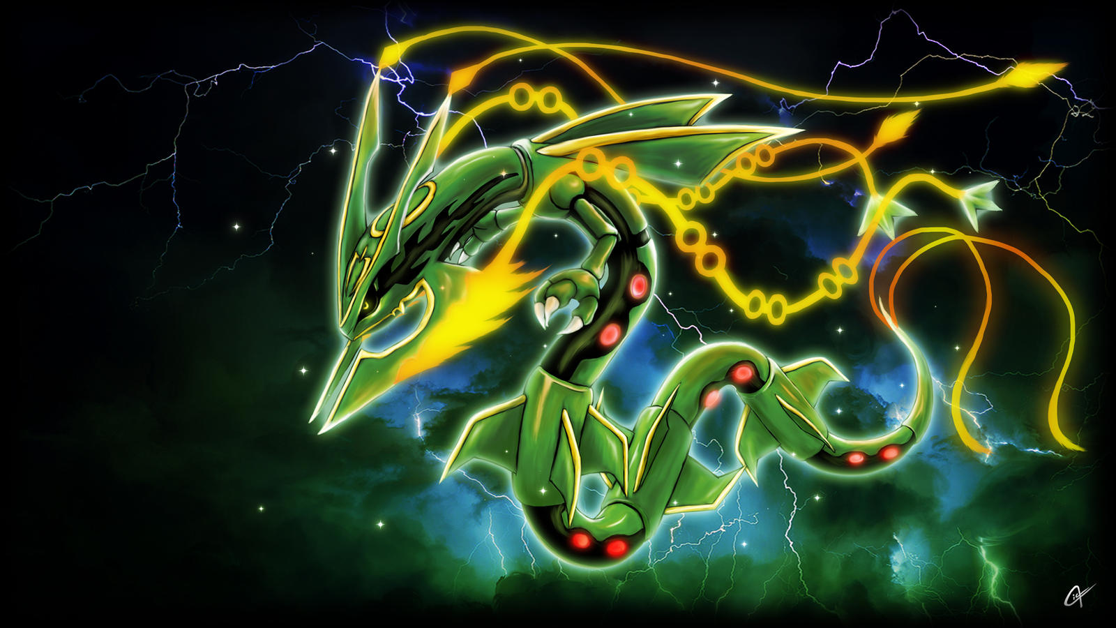 emerald rayquaza wallpapers - photo #38