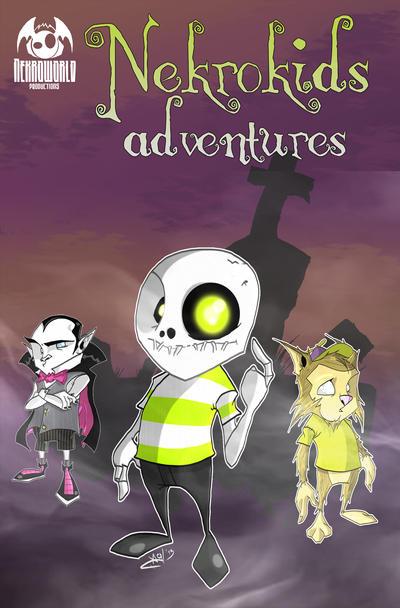 nekrokids adventures comic cover 1 by nekroworld-AgL