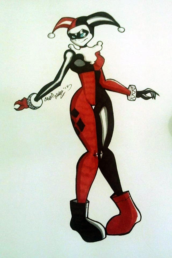 Harley Quinn by nekroworld-AgL