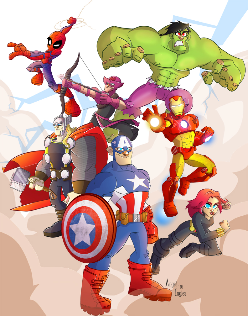 The Avengers by nekroworld-AgL