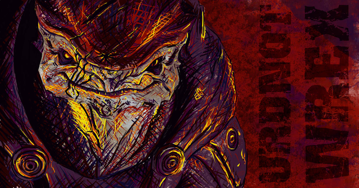 Urdnot Wrex by nthomas-illustration