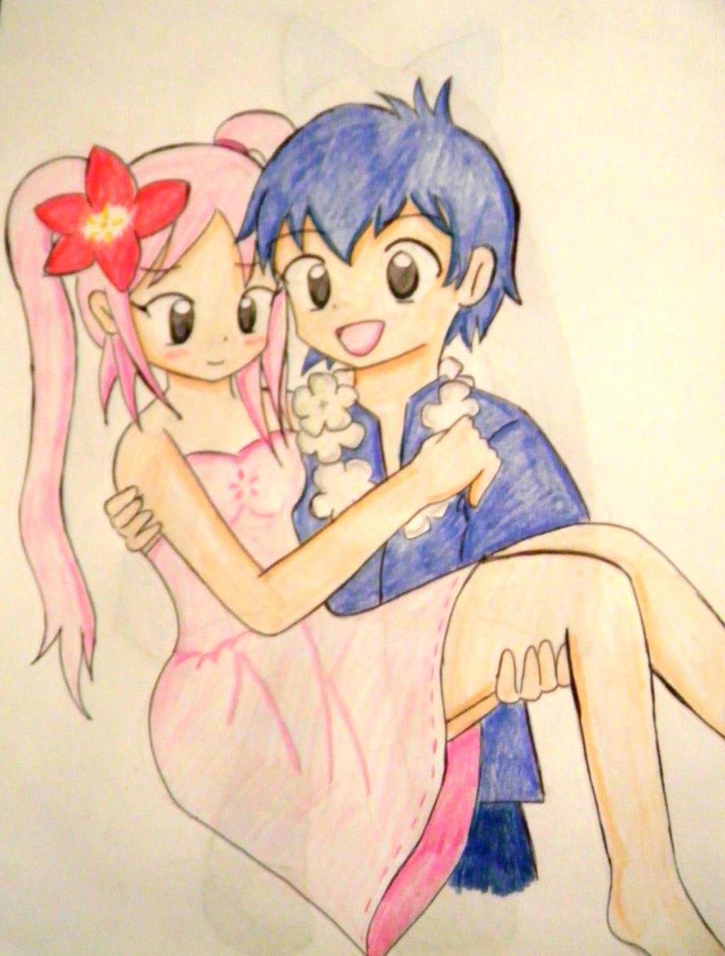 Stitch Y Angel Anime Humanos By Kary22 On Deviantart