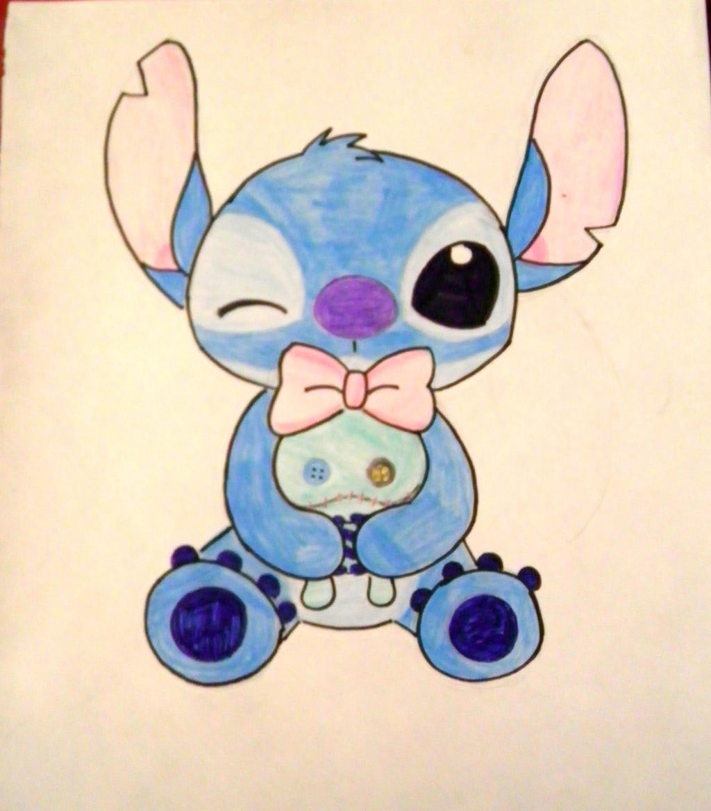 cute stitch tumblr stitch hearts - photo #25