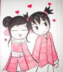 pucca y garu cute love