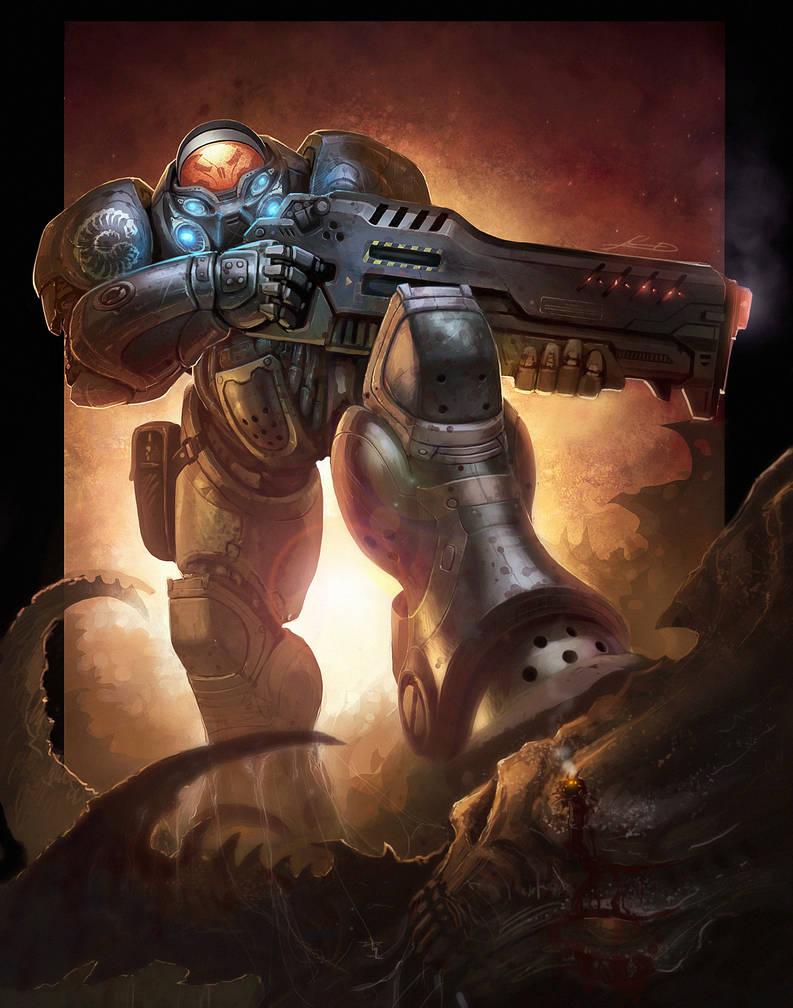 Jim Raynor from Starcraft 2