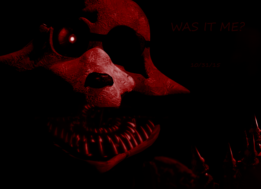 Fnaf 4 nightmare foxy rawr scary fnaf4 just a guess on what it may