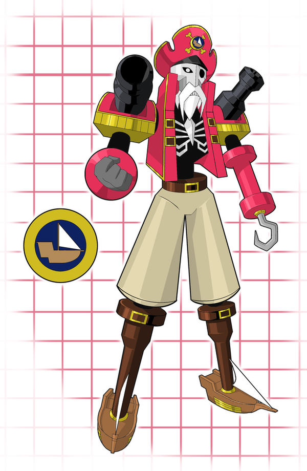 Pirateman by higure san on deviantart
