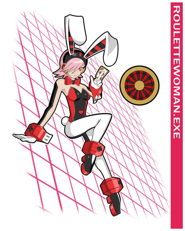 Roulettewoman Exe By Higure San On Deviantart