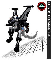 Thrusterman.EXE by Higure-san