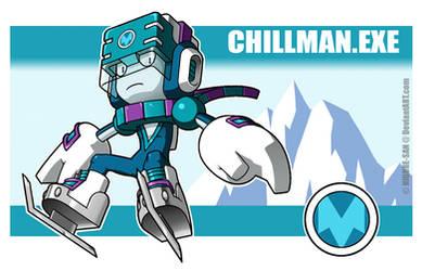 Chillman.EXE by Higure-san
