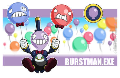 Burstman.EXE by Higure-san