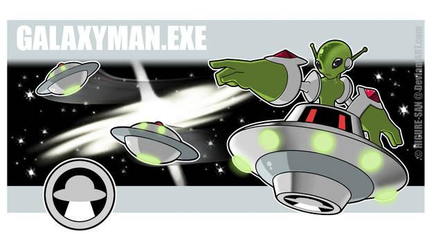 Galaxyman.EXE by Higure-san