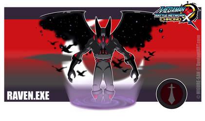 Chrono X: Raven.EXE by Higure-san
