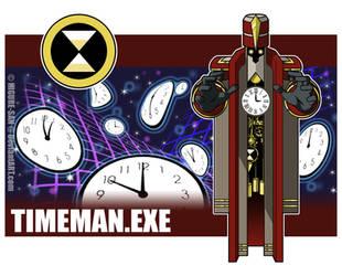 Timeman.EXE by Higure-san
