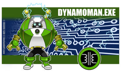 Dynamoman.EXE by Higure-san