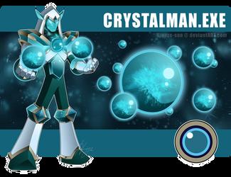 Crystalman.EXE by Higure-san