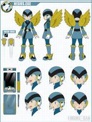 COMMISSION: Nexus.EXE by Higure-san