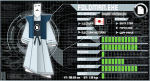 FoldMan.EXE by Higure-san