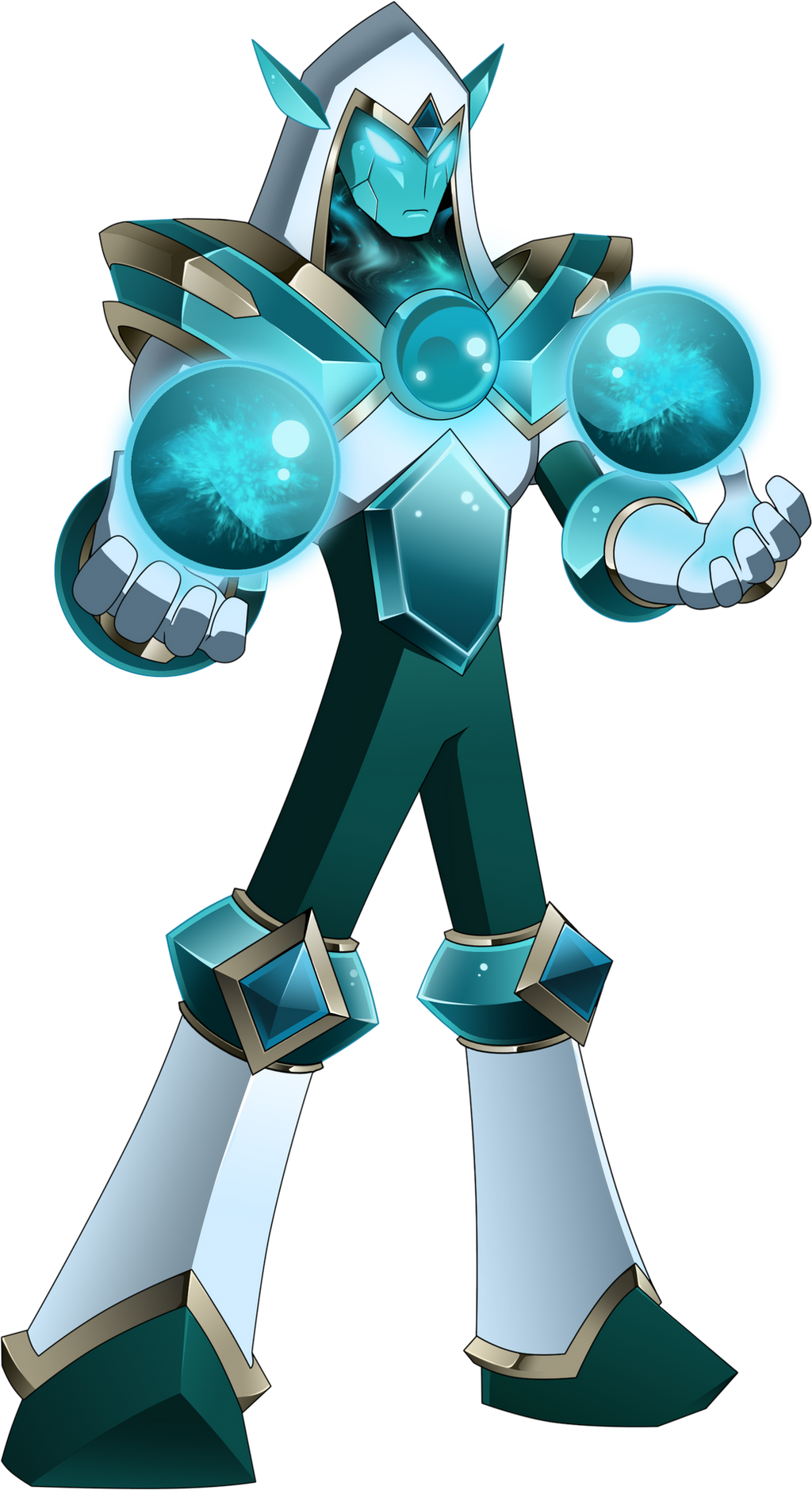 CrystalMan.EXE by Higure-san
