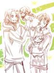 Hetalia FACE Family